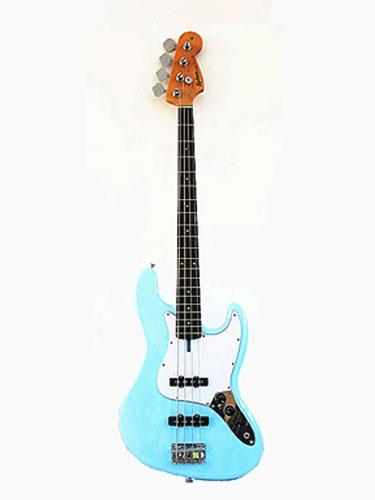 蓝色电贝斯